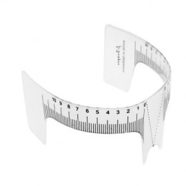 Eyebrow Measuring Ruler - 1