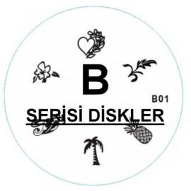 B SERIES 7 DESIGN STAMPING DISC