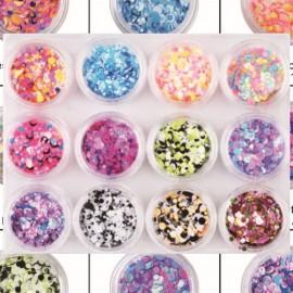 12 Color NAIL ART MATERIALS